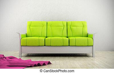 pamlag, modern, zöld