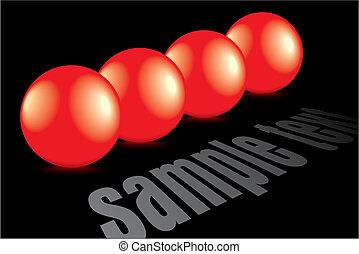 panama, fényes, visszaverődés, piros, 3
