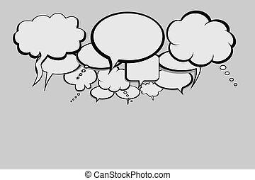 panama, hálózat, beszél, társadalmi
