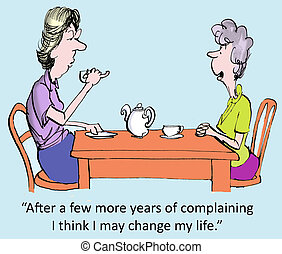 panaszkodik, év