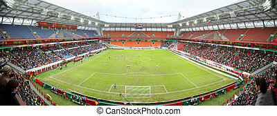 panoráma, labdarúgás, stadion