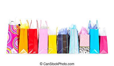 pantalló, bevásárlás, evez
