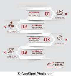 paper., infographic, modern ügy