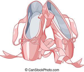 papucs, balett