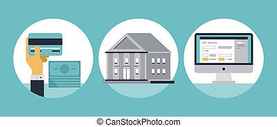 part online, lakás, ikonok