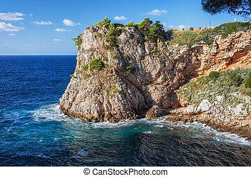 partvonal, adriai-tenger, horvátország