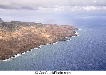 partvonal, hawaii-i