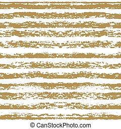 pasztell, olaj, arany, festett, pattern., seamless, kéz, cray, csíkos