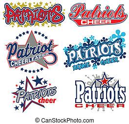 patriots, éljenzés, tervezés, gyűjtés