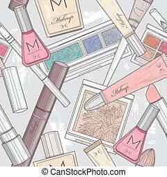 patten, alkat, seamless, kozmetikai