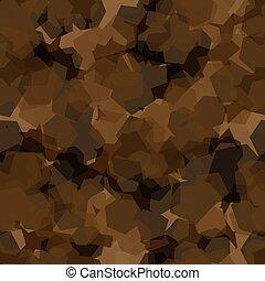 pattern., ábra, hadsereg, struktúra, hadi, vektor, seamless, álcáz, elvont