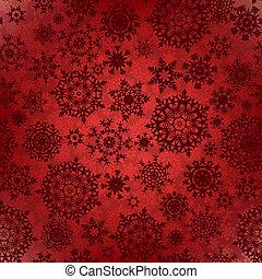 pattern., seamless, mély, eps, struktúra, 8, karácsony, piros