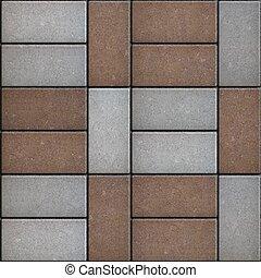 pavement., two-tone, derékszögű, texture., seamless