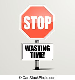 pazarlás, abbahagy, idő