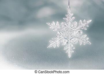 pehely, ünnep, hó, háttér