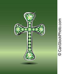 peridots, keresztény, kereszt