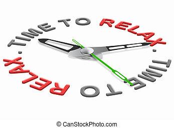 pihenés, idő