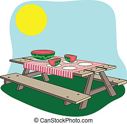 piknikel bíróság