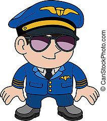 pilóta, ábra