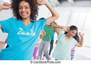 pilates, gyakorlás, oktató, alkalmasság osztály