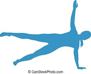 pilates, körvonal