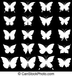 pillangók, díszlet tervezés