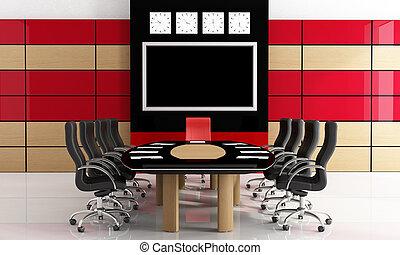 piros black, szoba, gyűlés