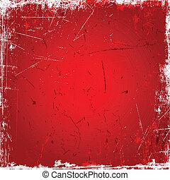 piros háttér, grunge