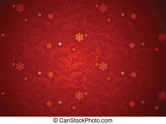 piros háttér, struktúra, karácsony