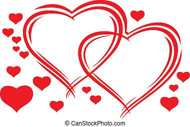 piros, valentines