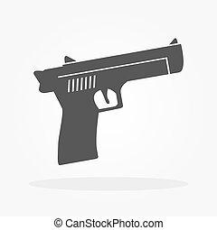 pisztoly, ikon
