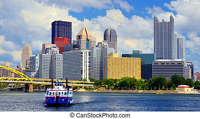 pittsburgh, waterfront