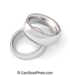 platina, gyűrű, esküvő