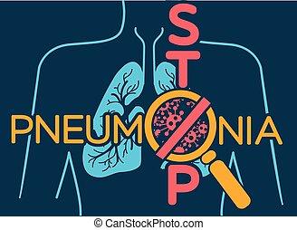 pneumonia, poszter