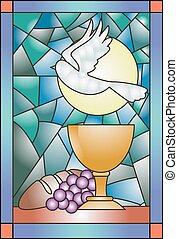 pohár, foltos, lelki közösség