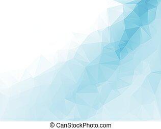 polygonal, vektor, háttér, mintalécek, mózesi, ügy, tervezés, ábra