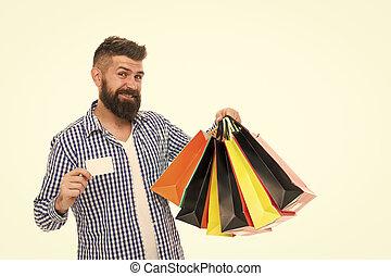 pontos, marketplace., páncélszekrény, becsületes, uram, bevásárlás, helyrehoz, ensure, part, értesülés, ember, concept., shopping., fogyasztó, kereskedelem, oltalom, befolyás, boldog, pantalló, card., verseny