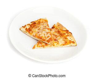 porció, pizza