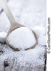 porció, white cukor