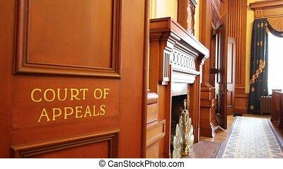 portland, fordul, bíróság, oregon