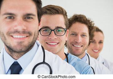 portré, befog, orvosi