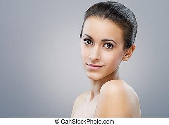 portré, szépség