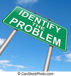 problem., azonosít