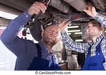 profi, mechanika, autó, megjavítás