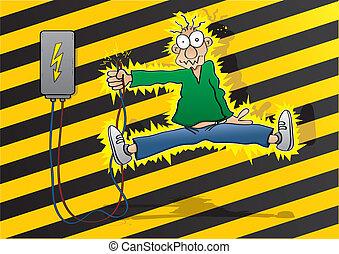 rázkódás, elektromos