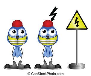 rázkódás, figyelmeztetés, elektromos