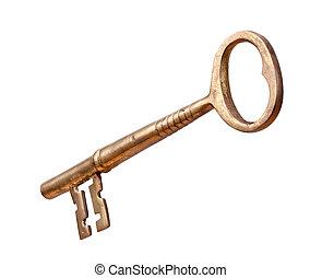 régimódi rézfúvósok, elszigetelt, kulcs