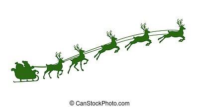 rénszarvas, hám, karácsony