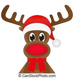 rénszarvas, karácsony