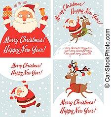 rénszarvas, klaus, karácsony, szent